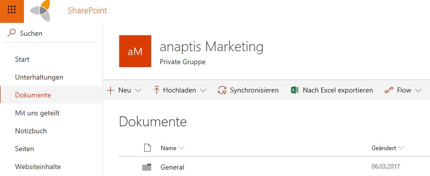 Dokumente in Microsoft SharePoint verwalten