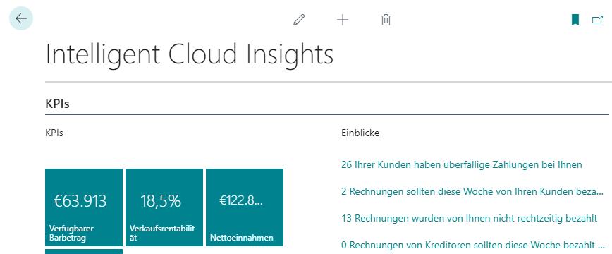 Intelligent Cloud Insights