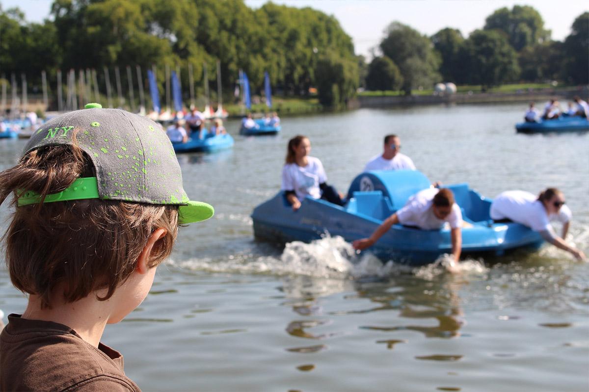 anaptis - Tretbootrennen