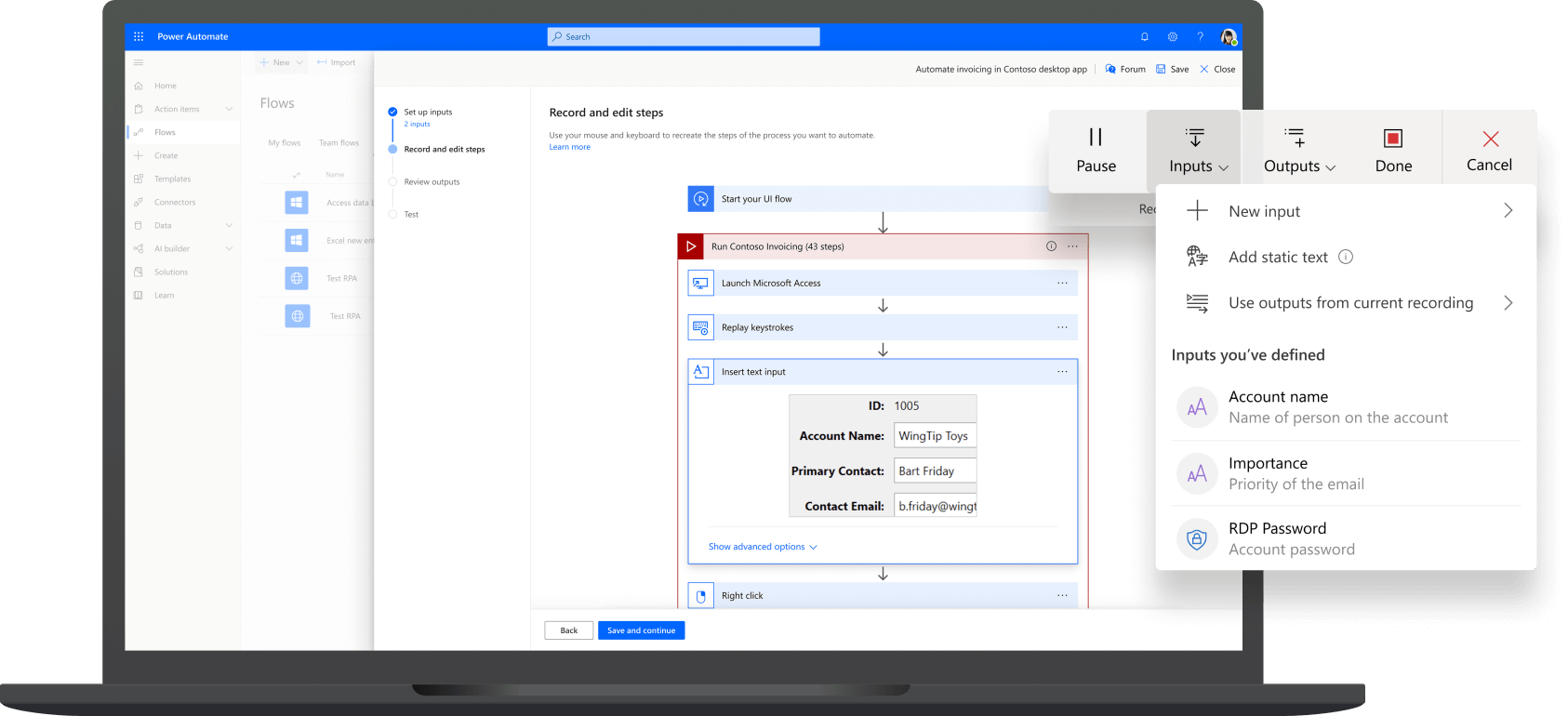 Microsoft Power Automate Beispiel