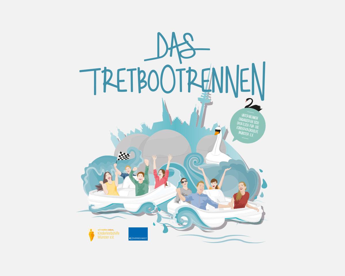 Tretbootrennen Münster 2020